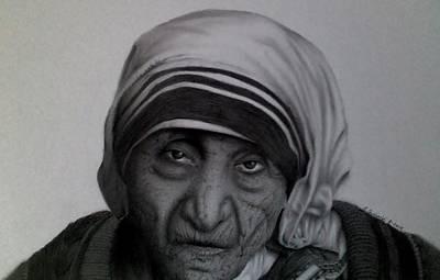 Mother Teresa Original by Stephen Owsinski