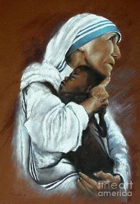 Mother Theresa Art Print