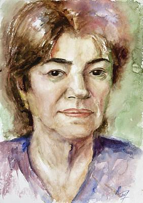 Painting - Mother  by Vali Irina Ciobanu