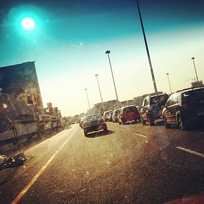 Photograph - #mothercity Traffic :) by Jaynie Lea