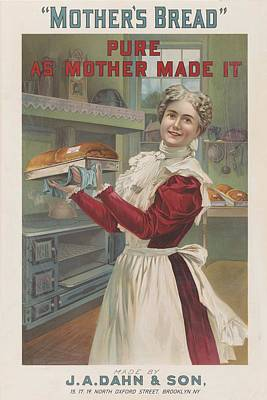Mixed Media - Mothers Bread By J A Dahn And Son by Movie Poster Prints