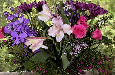 Photograph - Mothers Day Bouquet by Mary Gaines