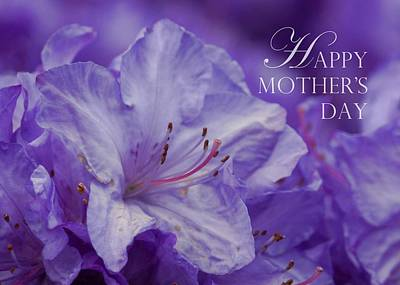 Photograph - Mother's Day Card - Lavender Star by Patricia Strand