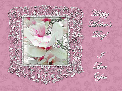 Bringing The Outdoors In - Mothers Day Greeting Card - Tulip Tree by Mother Nature
