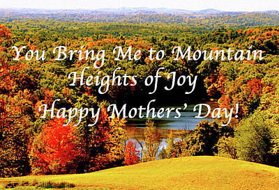 Photograph - Mothers' Day Joy Romantic by Femina Photo Art By Maggie