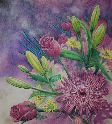 Drawing - Mother's Day by Lynne Renzenberger