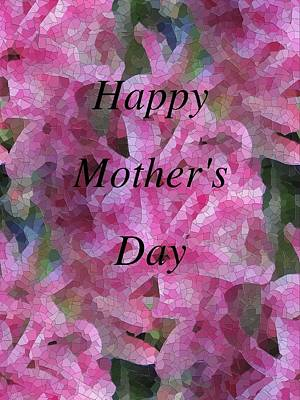 Digital Art - Mother's Day Pretty In Pink by Tim Allen