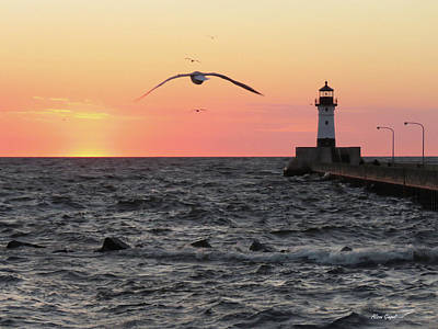 Duluth Photograph - Mothers Day Sunrise by Alison Gimpel