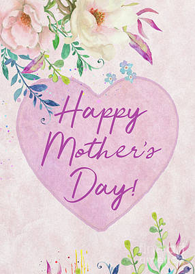 Digital Art - Mother's Day Wishes by Anita Pollak