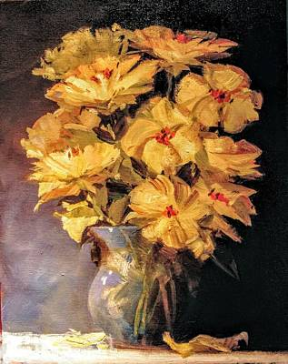 Painting - Mother's Favorite Vase by Jessica Anne Thomas