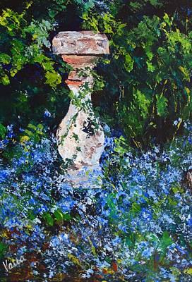 Mother's Garden Original by Valerie Curtiss