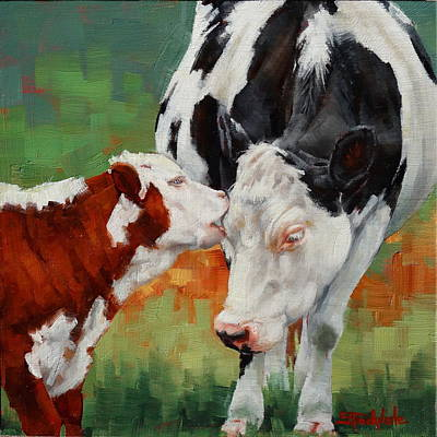 Painting - Mothers Little Helper by Margaret Stockdale