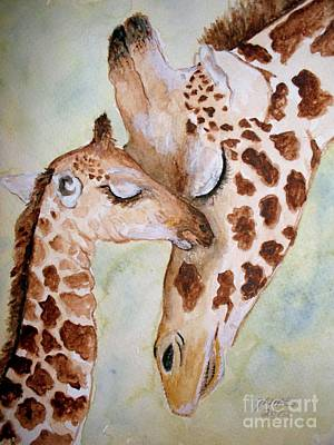 Mothers Love Art Print by Carol Grimes