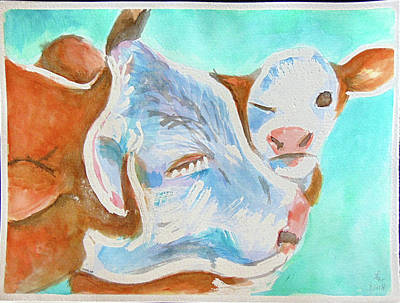 Painting - Mother's Love by Loretta Nash