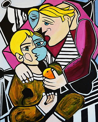 Painting - Mothers Love by Nora Shepley