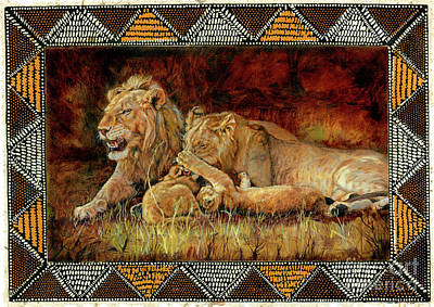 Beadwork Mixed Media - Mother's Pride And Joy by Carol J  South