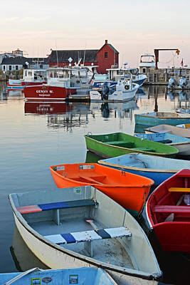 Photograph - Motif #1 Rockport Ma by Toby McGuire