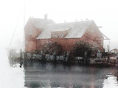 Painting - Motif In Fog by Paul Sachtleben
