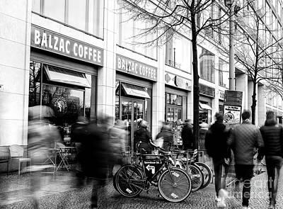 Photograph - Motion In Berlin by John Rizzuto
