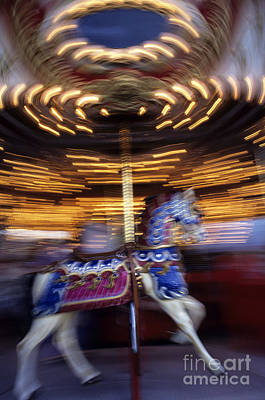 Photograph - Motion Merry-go-round by Jim Corwin