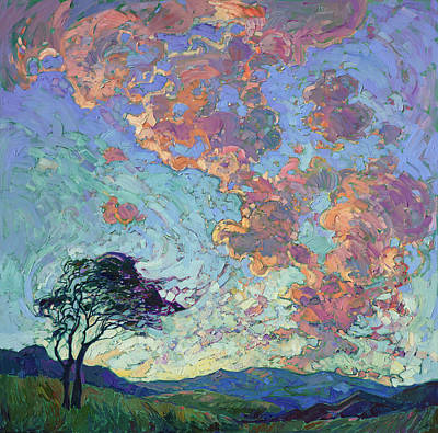 Painting - Motion Of Light by Erin Hanson