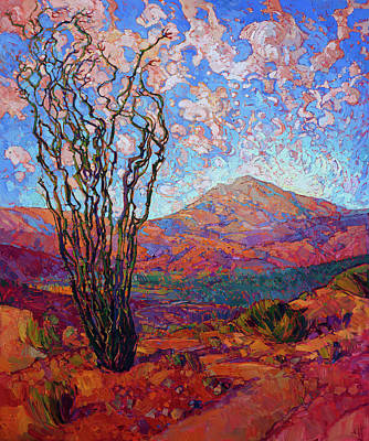 Painting - Motion Of Ocotillo by Erin Hanson