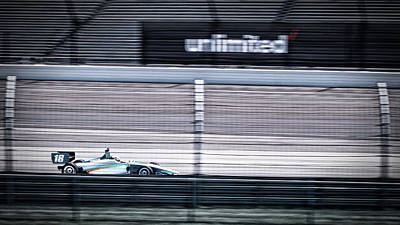 Indy Car Photograph - Motion by Scott Wyatt