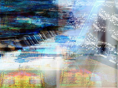 Digital Art - Motivational Piano by Art Di