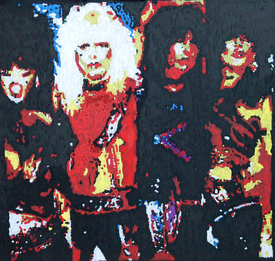 Motley Crue Without Sun Art Print by Grant Van Driest