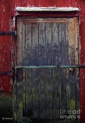 Rural Decay Digital Art - Motley Decay by RC deWinter