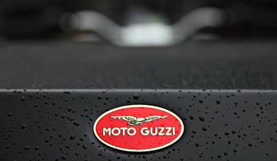 Photograph - Moto Guzzi 11 by Katie Wing Vigil