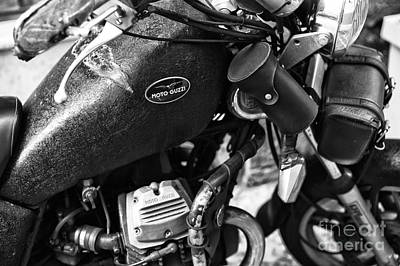 Photograph - Moto Guzzi by John Rizzuto