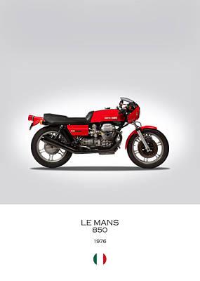 Moto Guzzi Le Mans Art Print