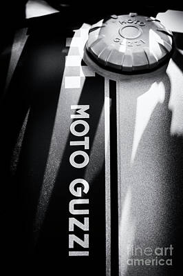 Photograph - Moto Guzzi by Tim Gainey