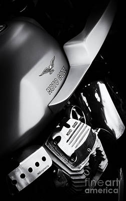 Photograph - Moto Guzzi V7 Cafe Racer by Tim Gainey