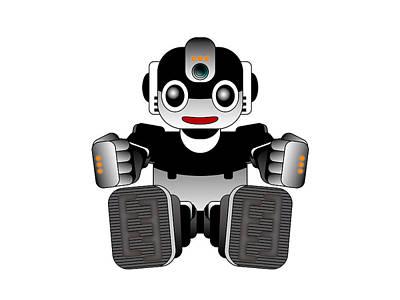 Digital Art - Moto-hal by Moto-hal