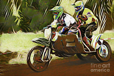 Photograph - Motocross 20318 by Ray Shrewsberry