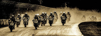 Photograph - Motogp by Michael Nowotny