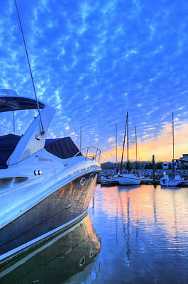 Photograph - Motor Boating by JC Findley