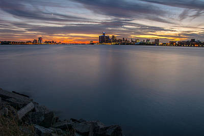 Photograph - Motor City Sunset  by Pravin  Sitaraman
