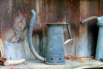 Photograph - Motor Oil Dipenser Still Life by David Lee Thompson