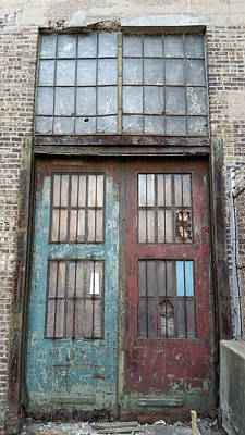 Photograph - Motor Row Doors by Zac AlleyWalker Lowing