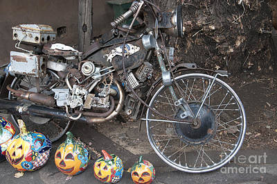 Photograph - Motorbike Magic In Santa Fe by Brenda Kean