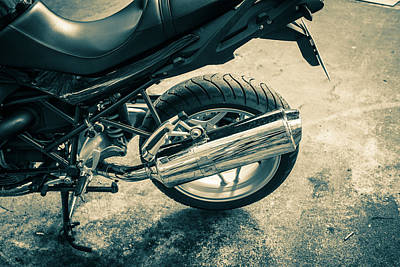 Digital Art - Motorbike by Mike Taylor