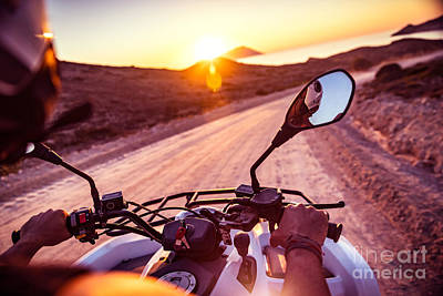 Photograph - Motorbike Travels by Anna Om