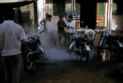 Photograph - Motorcycle Aficionados by Robert Holden