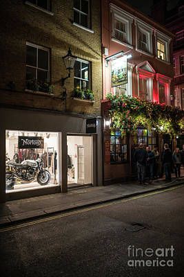 Photograph - Motorcycle Dreams by Mike Reid
