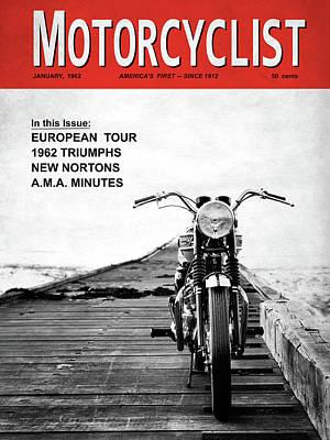 Motorcycle Magazine European Tour 1962 Art Print