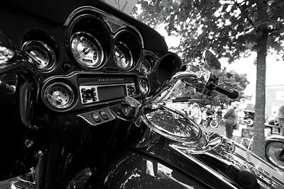 Photograph - Motorcycle by Michael Thibault