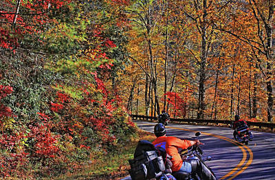 Photograph - Motorcycling Through Appalachia by HH Photography of Florida